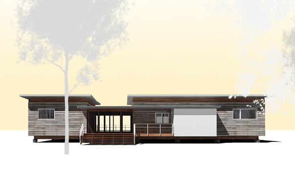 Jetson green passive solar dogtrot gets a revamp for Passive solar house kits