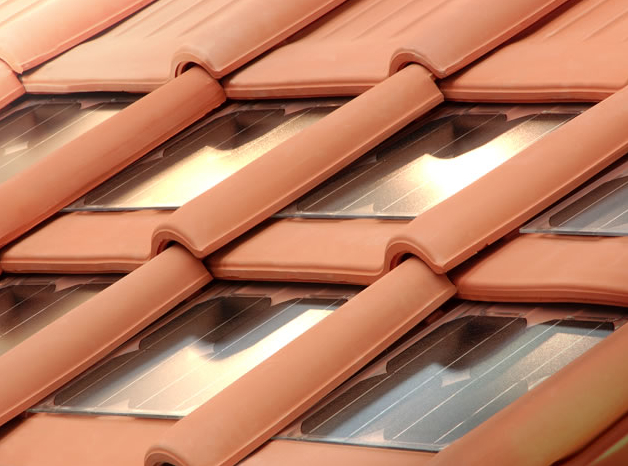 Roof Integrated Solar With Ceramic Tiles