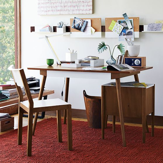 Stylish Eco Home Office From West Elm