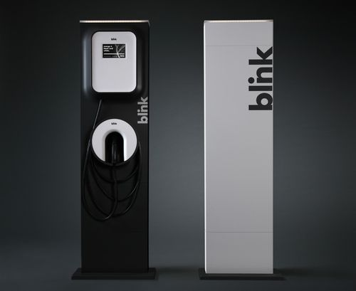 Blink-level-2-charging-station-ev
