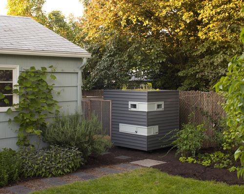 Portland-chicken-coop-gray