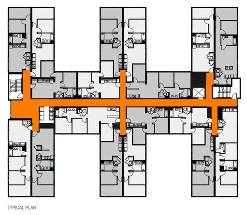 Apartment Building Floor Plans