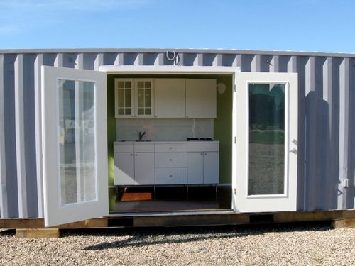 Leed-cabins-container-entry