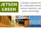 sustainable homes, natural materials, green technology