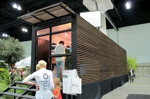 jetson green iq haus prefab unveiled in los angeles. Black Bedroom Furniture Sets. Home Design Ideas