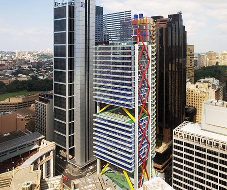 Jetson Green 8 Chifley Square Adds Color To Green Tower