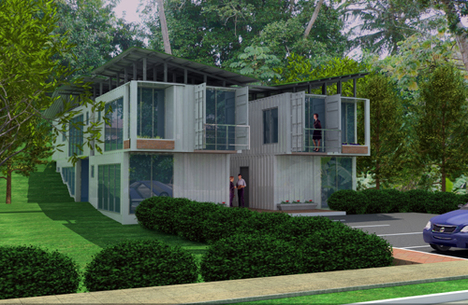 Jetson green urban rio panama 39 s first affordable green - Affordable container homes ...