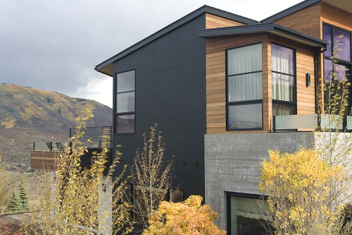 Jetson Green Ecoclad Modern Green Exterior Cladding