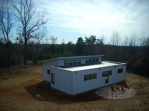 Jetson Green Virginia Passive Solar Modern House Nearing