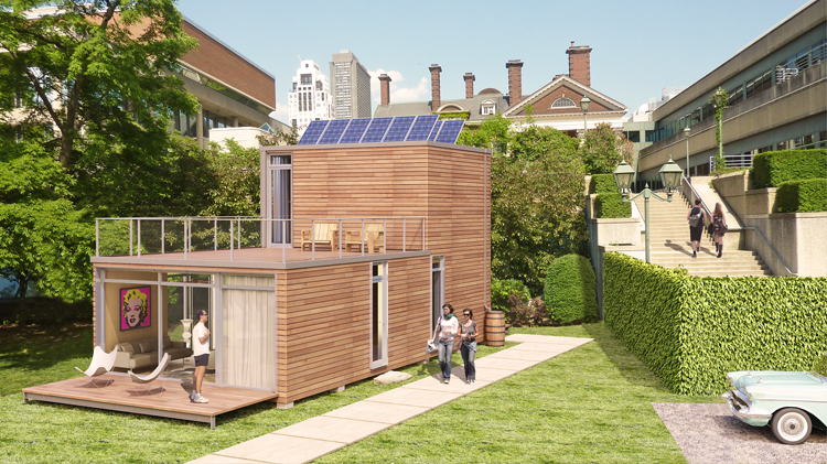 Jetson green meka unveils modular container houses for Piani eco cottage