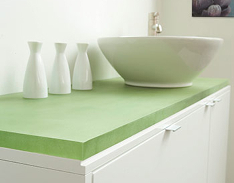 Jetson Green 3form Chroma A Solid Surface Product