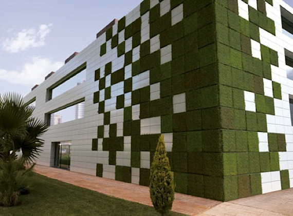 Green Wall Facade : Jetson green building innovations of