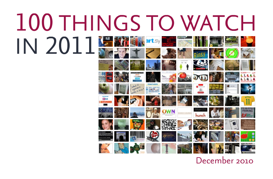 JWT 100 Things to Watch in 2011