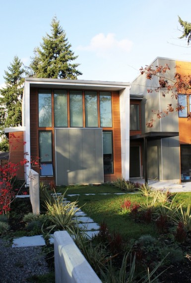 Green Concept Home Built Bellevue on Green Concept Home Modus V Studio Architects