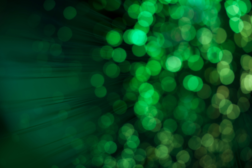 Green Defocused Background Lights iStockPhoto