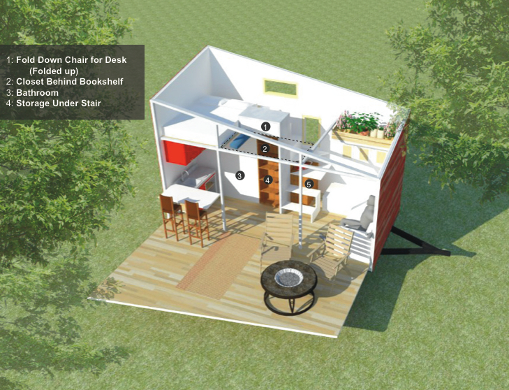 Jetson Green Transformer Tiny House in the Works