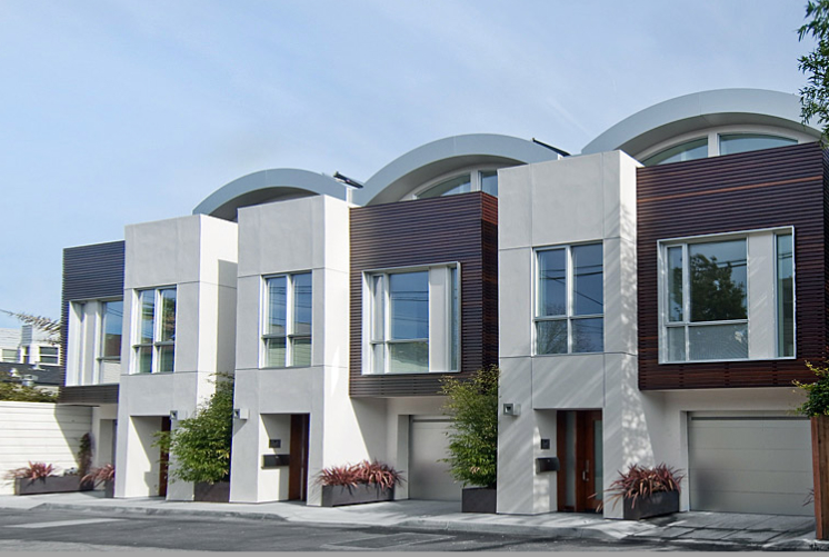 Jetson green nine luxuriate leed homes in california for San francisco modern homes