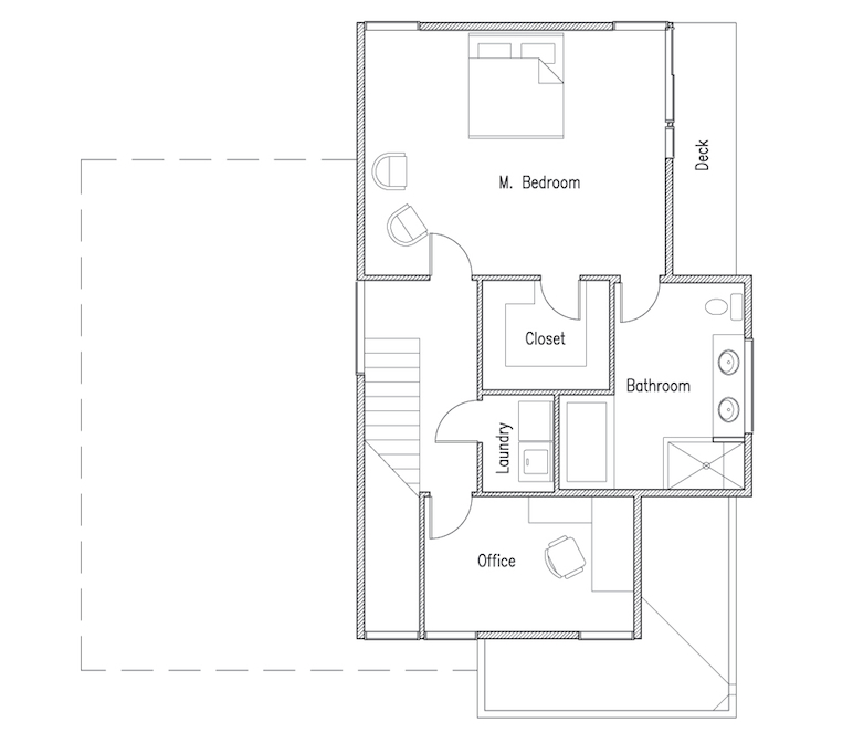 small modern efficient house plans