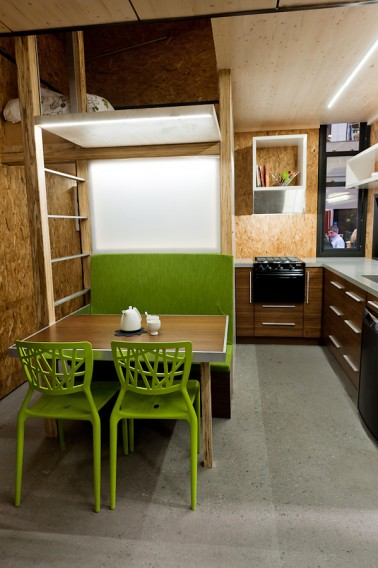 Jetson Green Tiny Green Faberhaus Opens In Quebec