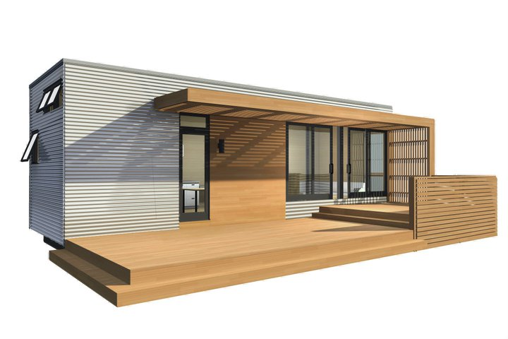 mini home design. New MiniHome Gets A Fresh Modern Look Jetson Green