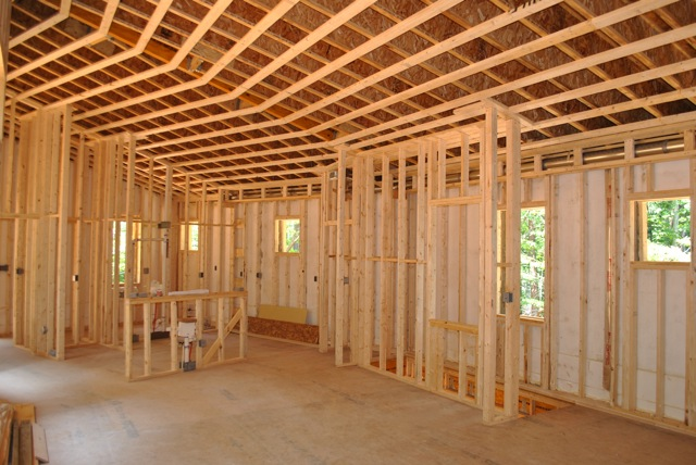 Jetson green the first passive house in north carolina for Building a house in nc