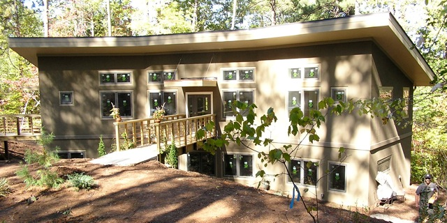 Jetson green the first passive house in north carolina for The carolina house