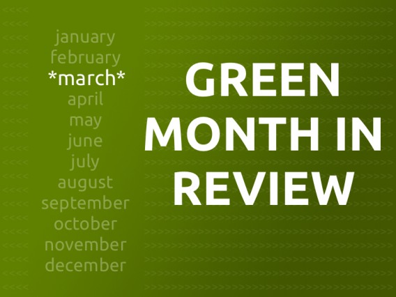 Jetson Green Recap of March