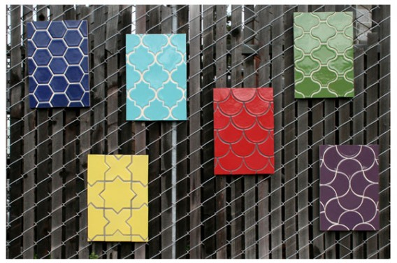 Jetson Green Vibrant Recycled Tiles From California
