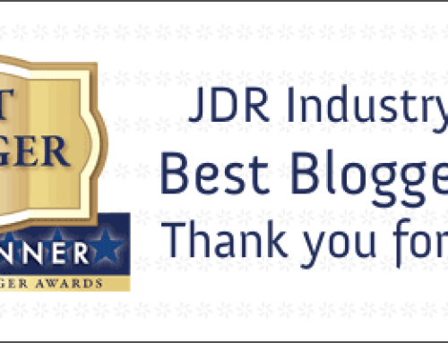 Results: JDR Industry Blogger Awards
