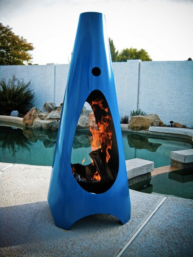 tough love gardens steel outdoor urban zeno metal fireplace pieces corten canoa