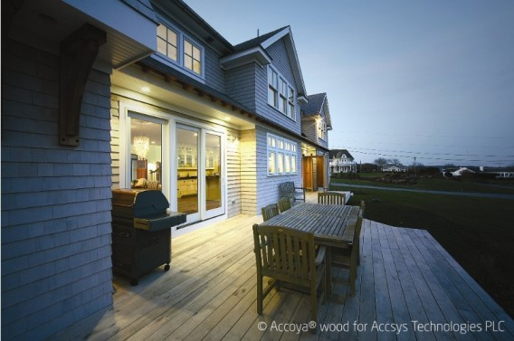 Accoya Offers Durable Non-Toxic Wood