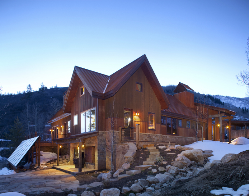 Jetson green off grid nze mountain cabin in colorado for Mountain home designs colorado