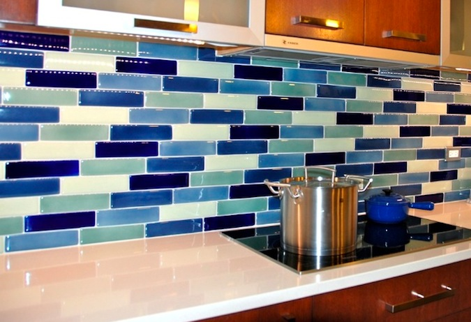 Fireclay Tile Crush 100% Recycled Content