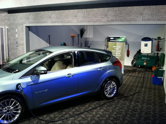 Ford Showcases the Garage of the Future