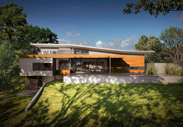 Jetson green housing recovery brings changed world for Dwell house plans