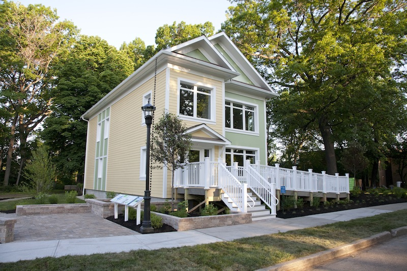 PNC SmartHome Passive House - exterior