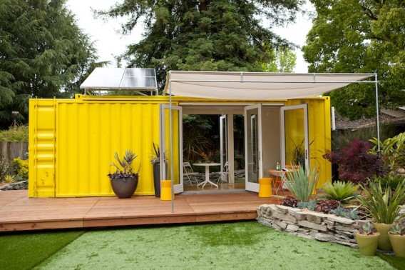 Nomad Tiny Shipping Container Home | 17 Cool Container Homes To Inspire Your Own