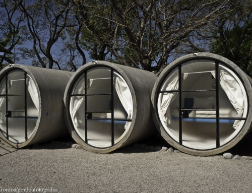 Tiny Tubular Hotel Built in Three Months