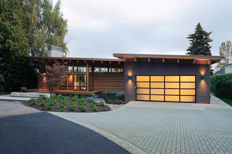 Jetson green eco modern home on the columbia river for Home design vancouver wa