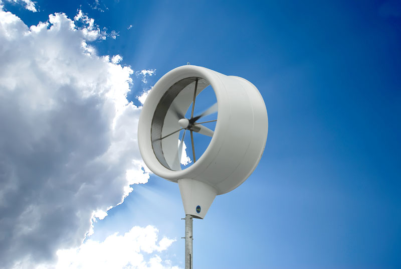Jetson Green Donqi Urban Windmill On The Side