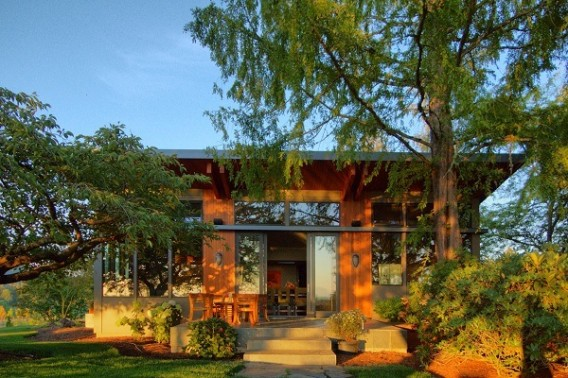 Portland Oregon Prefab home Stillwater Dwellings