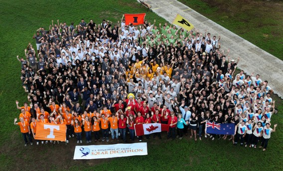 Solar Decathlon 2011 all teams photo