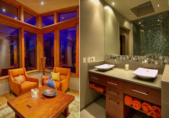 contemporary interior bathroom