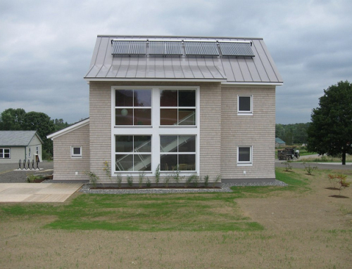 Unity College Gets Passive Haus Building