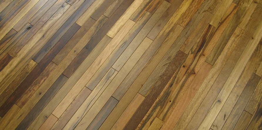 Jetson green new fsc floor made with old pallets Reclaimed wood flooring portland