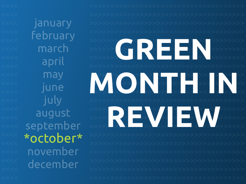 Month in Review - October