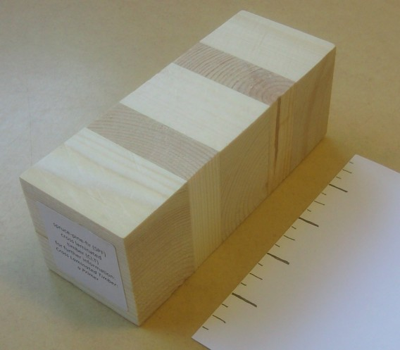 cross-laminated timber section