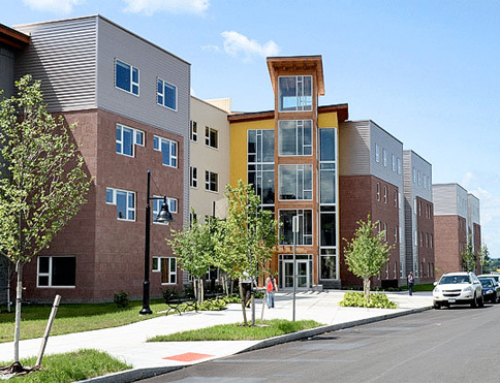 LEED Gold Hall Built with 184 Modules