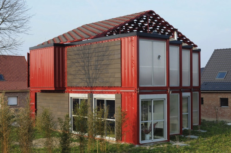 Jetson green container house fit for valentine s day - Maison container ...