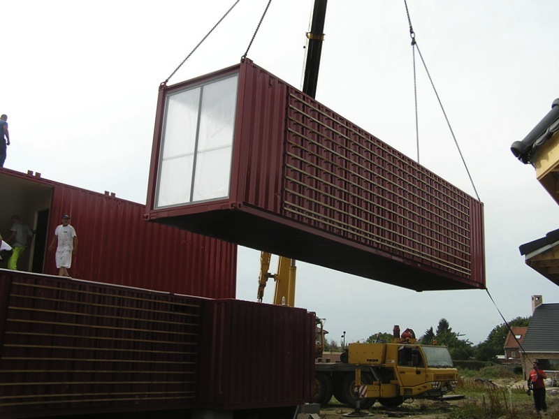 Jetson green container house fit for valentine s day for Maison container 44